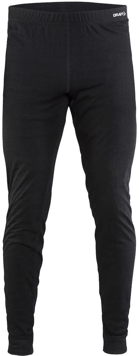Термобелье брюки мужские Craft Nordic Wool, цвет: черный. 1904118/9975. Размер M (48)1904118/9975Мягкие термобрюки от Craft, выполненные из мериносовой шерсти, полиэстера и полиамида для оптимальной терморегуляции. Модель с эластичной резинкой на талии.