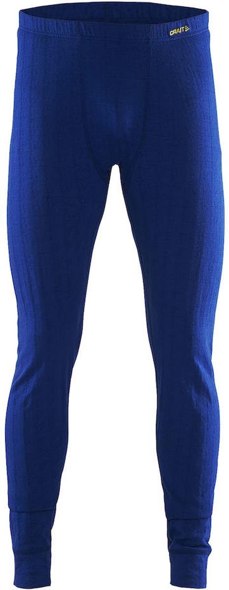 Термобелье брюки мужские Craft Nordic Wool, цвет: синий. 1904118/2386. Размер M (48)1904118/2386Мягкие термобрюки от Craft, выполненные из мериносовой шерсти, полиэстера и полиамида для оптимальной терморегуляции. Модель с эластичной резинкой на талии.