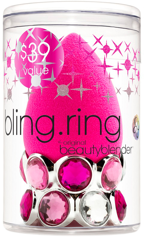 Beautyblender Спонж original + bling.ring спонжи beautyblender спонж beautyblender original и мини мыло для очистки solid blendercleanser