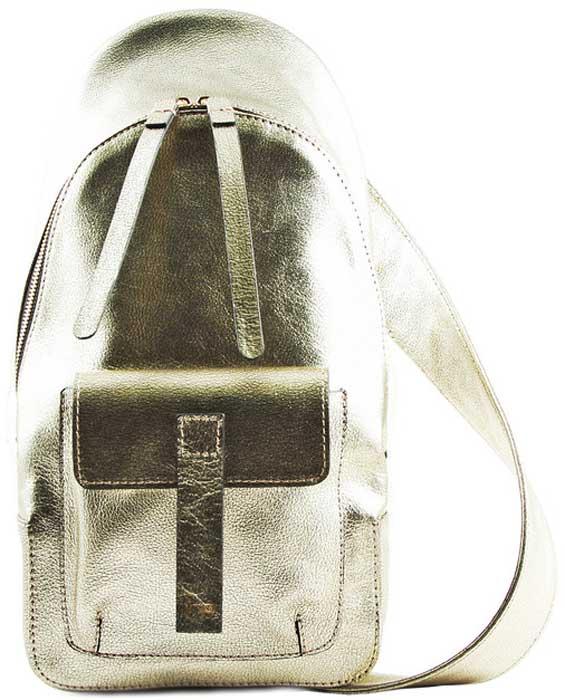 Рюкзак женский Frija, цвет: золотой. 21-350-16-022-1 frija 21 0173 13