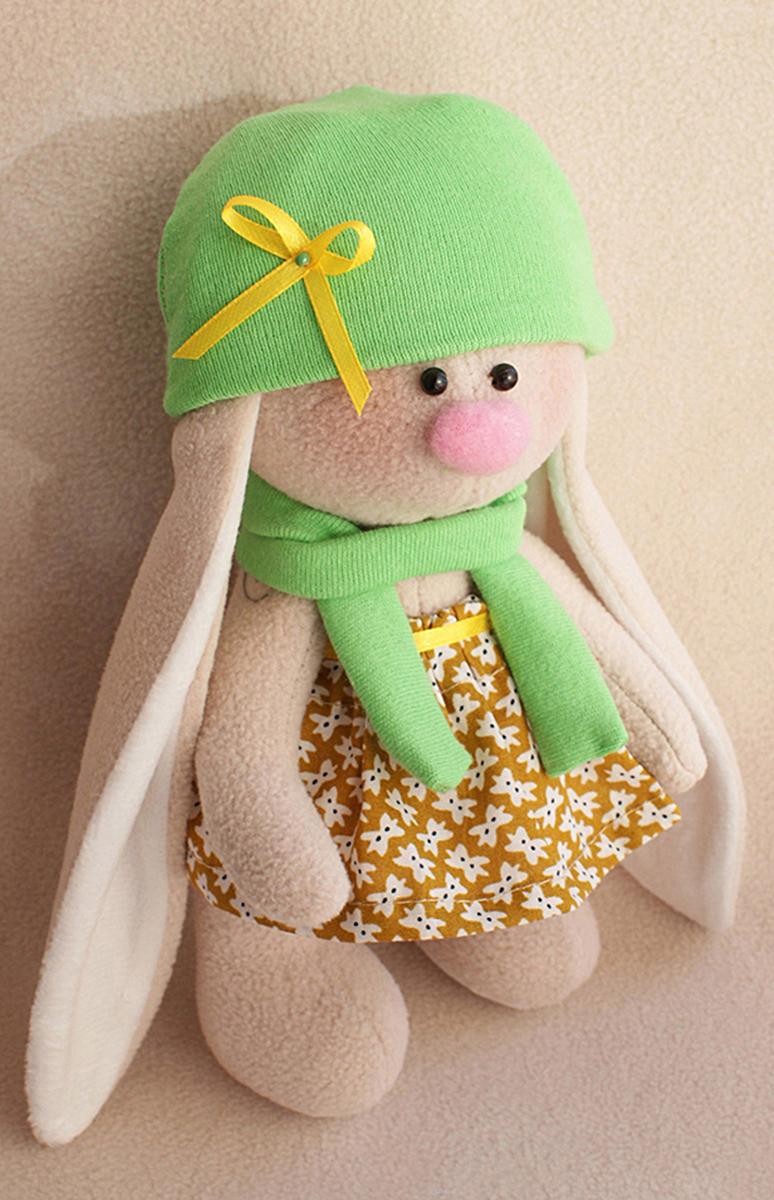 Набор для изготовления текстильной игрушки Ваниль  Зайка Фасолька , высота 20 см - Игрушки своими руками