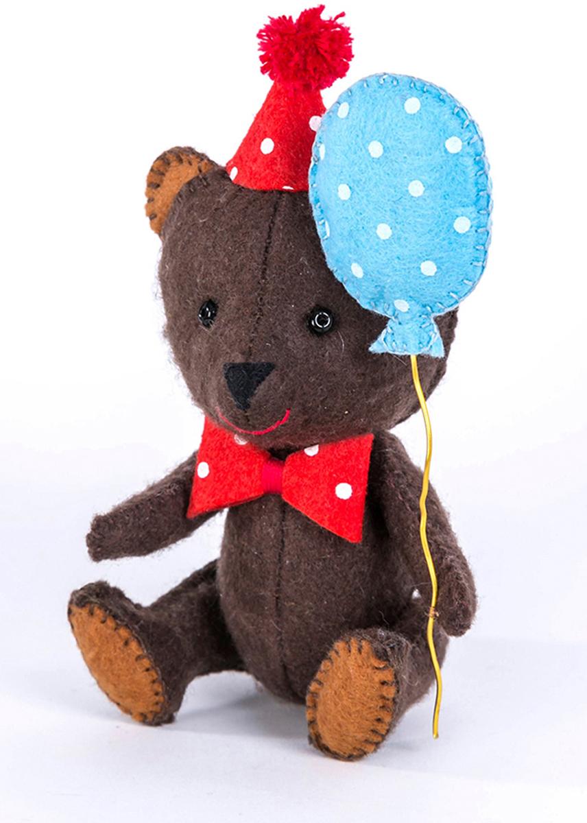 """Набор для изготовления текстильной игрушки Перловка """"Happy Мишка"""", высота 11,5 см"""