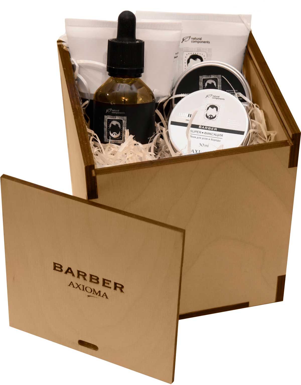 Набор для бороды и усов Брутал Бородач (короб деревянный)8043Идиальный и оригинальный подарок к любому празднику для мужчины, мечтающему носить красивую бороду и усы. Набор упакован в деревянный короб.
