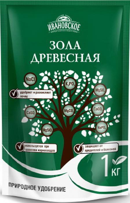 Зола древесная Фермерское хозяйство Ивановское, 1 кг