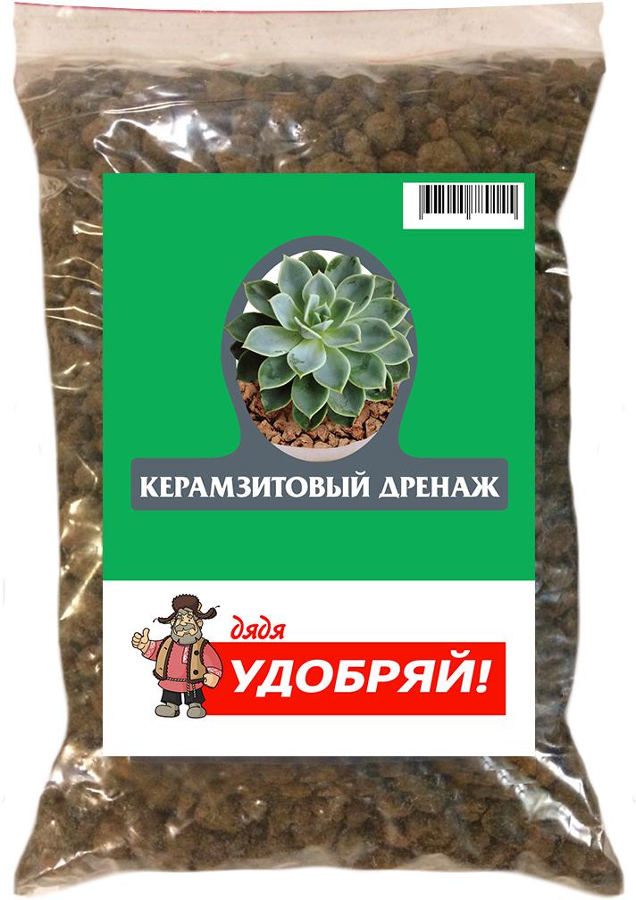 Дренаж керамзитовый Дядя Удобряй, 2 л дренаж керамзитный мелкий фарт 2 л