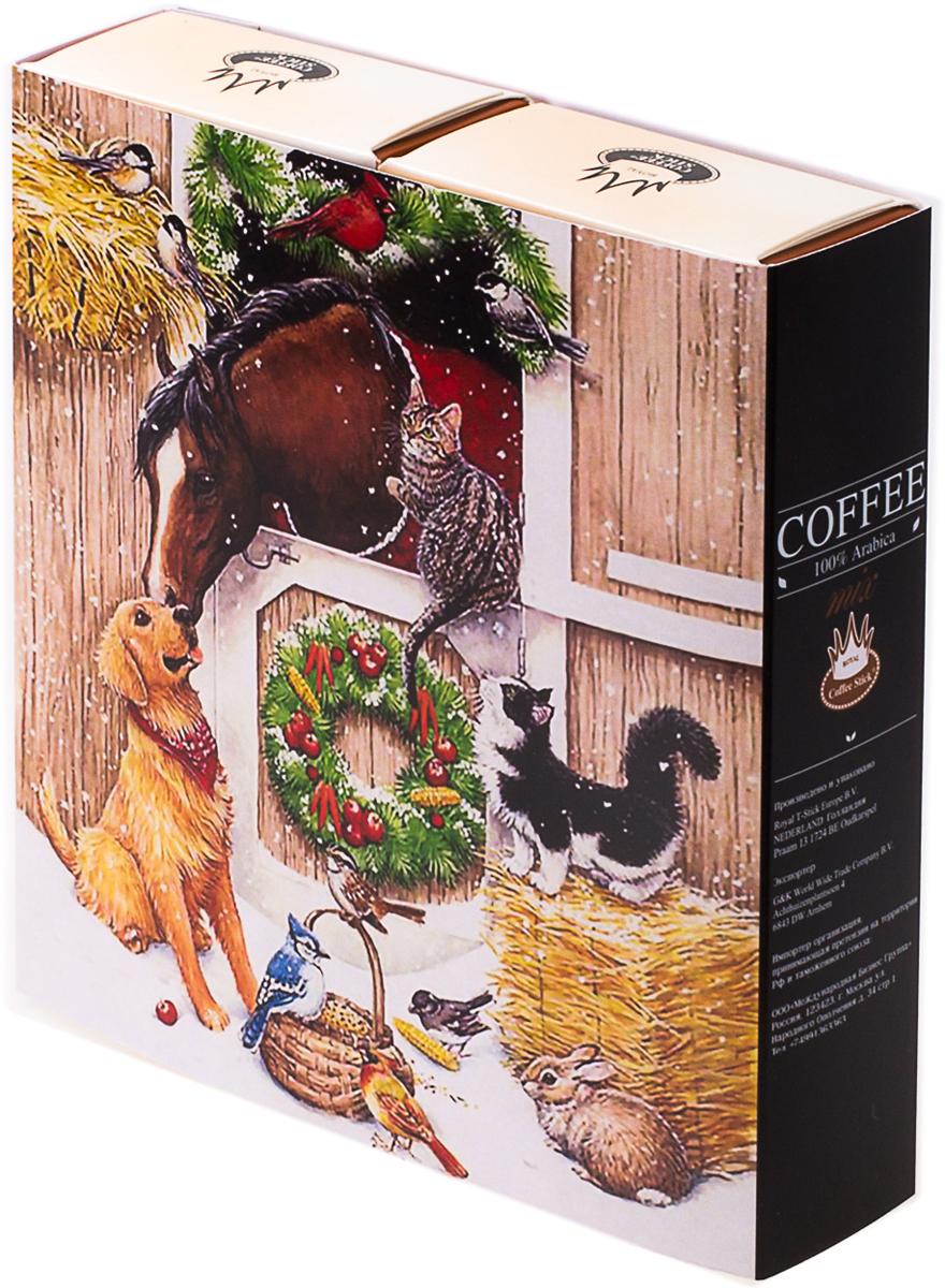 Подарочный набор Royal Coffee Stick: Фундук и Фундук, 20 шт. 2018к0382018к038100 % замороженный сушеный растворимый кофе. Сбалансированный мягкий вкус. Хорош как в горячем, так и в холодном виде (Ice coffee). Для заваривания возьмите стик с кофе с той стороны, где начинается логотип. Опустите стик в чашку горячей воды и размешайте до желаемой крепости. Кофе упакован в пищевую фольгу, которую можно использовать вместо ложечки для размешивания сахара. Royal Coffee Stick порадует вас потрясающим вкусом натурального кофе и подарит хорошее настроение на весь день.Кофе: мифы и факты. Статья OZON Гид