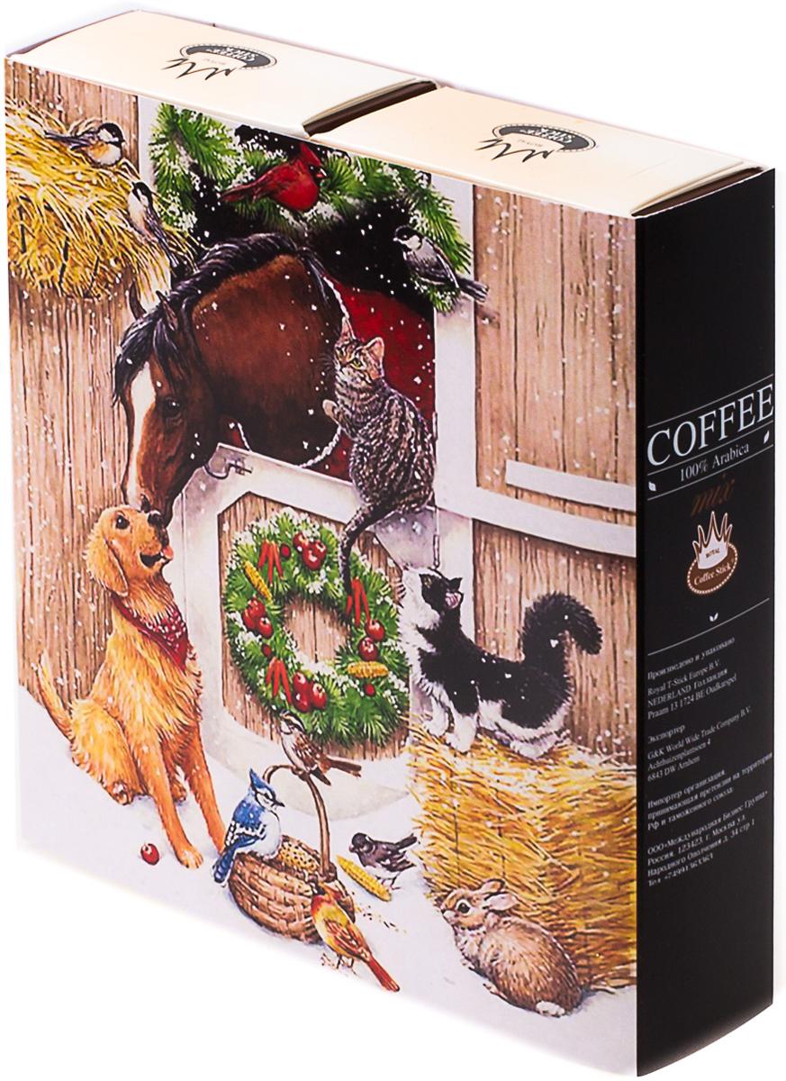 Подарочный набор Royal Coffee Stick: Арабика и Арабика, 20 шт. 2018к0342018к034100 % замороженный сушенный растворимый кофе.