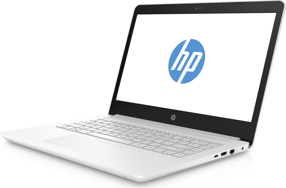 HP 14-bp102ur, Snow White (2PP17EA)511757Стильный ноутбук HP 14-bp012ur, помимо выполнения повседневных задач, поможет вам оставаться на связи весь день. Благодаря неизменно высокой производительности и длительному времени работы от аккумулятора вы можете с комфортом пользоваться Интернетом, вести потоковое вещание и оставаться на связи с нужными людьми.Новейшие процессоры Intel обеспечивают неизменно высокую производительность, которая необходима для работы и развлечений. Надежность и долговечность ноутбука позволят легко выполнять все необходимые задачи.Развлекайтесь и оставайтесь на связи с друзьями и семьей благодаря превосходному дисплею HD (или Full HD в некоторых моделях) и камере HD в некоторых моделях. Кроме того, с этим ноутбуком ваши любимые музыка, фильмы и фотографии будут всегда с вами.Продуманная конструкция и замечательный дизайн этого ноутбука HP с дисплеем диагональю 35,6 см (14) идеально подойдут для вашего образа жизни. Изящное оформление, оригинальное покрытие и хромированное шарнирное крепление (на некоторых моделях) добавят немного цвета в будни.Оцените потрясающую четкость изображения с любого угла. Благодаря широкому углу обзора 178° и высокому разрешению изображение на экране будет отлично выглядеть с любой стороны.Сенсорная панель с поддержкой технологии Multi-Touch.Точные характеристики зависят от модификации.Ноутбук сертифицирован EAC и имеет русифицированную клавиатуру и Руководство пользователя