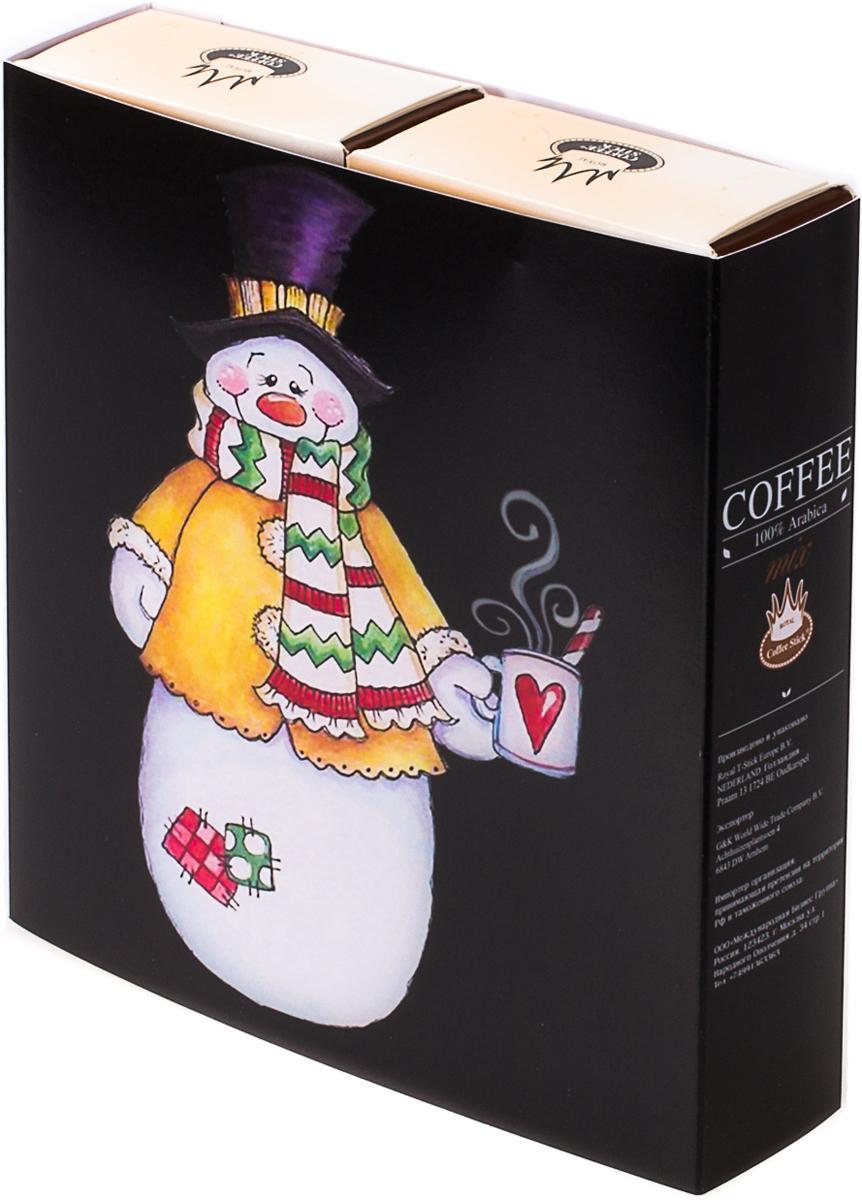Подарочный набор Royal Coffee Stick: Арабика и Арабика, 20 шт. 2018к0132018к013100 % замороженный сушенный растворимый кофе.