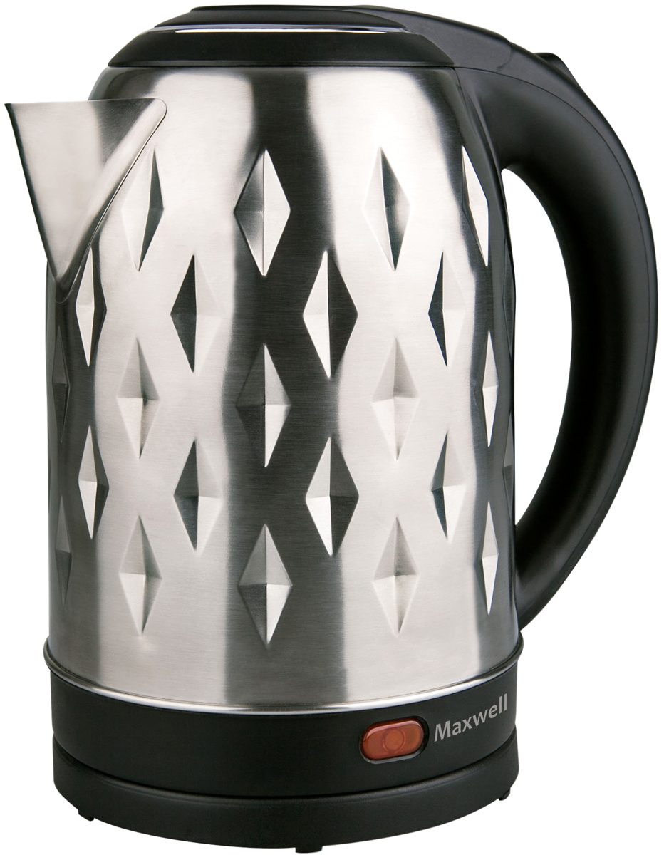Maxwell MW-1084(ST), Gray Metallic электрический чайник