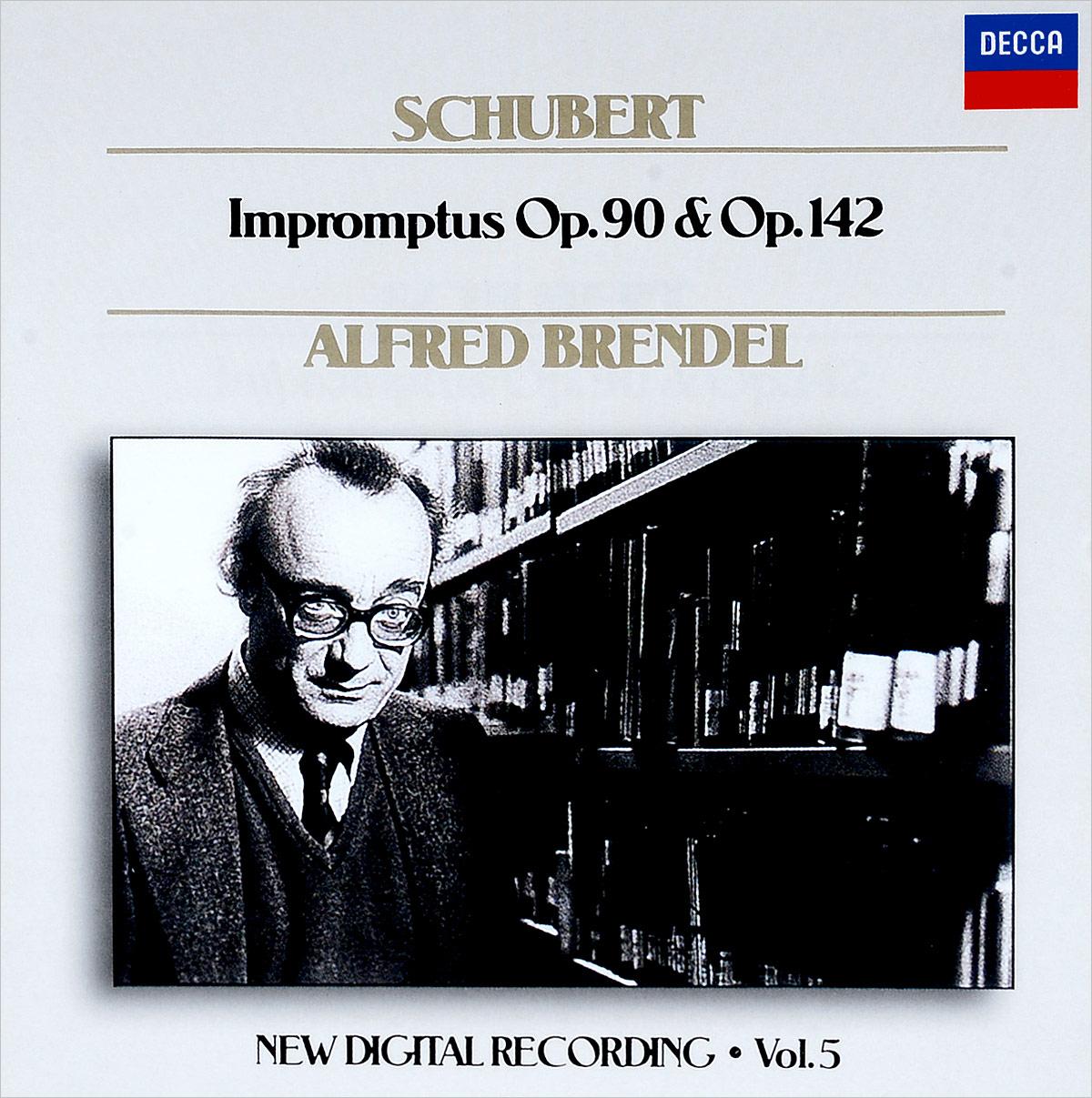Alfred Brendel. Schubert: Impromptus D. 899; Impromptus D. 935