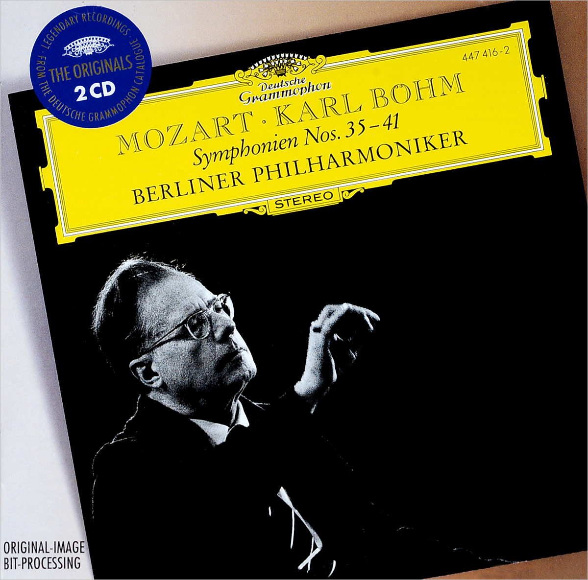 Карл Боэм Karl Boehm. Mozart: Symphonies Nos.35-41 (2 CD) münchner philharmoniker elbphilharmonie hamburg