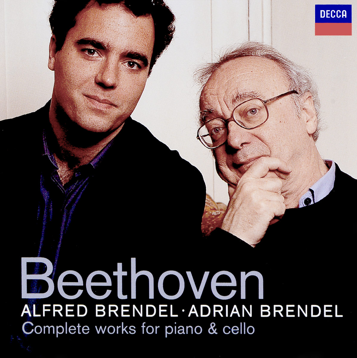 Альфред Брендель Alfred Brendel, Adrian Brendel. Beethoven: Complete Works for Piano & Cello (2 CD)