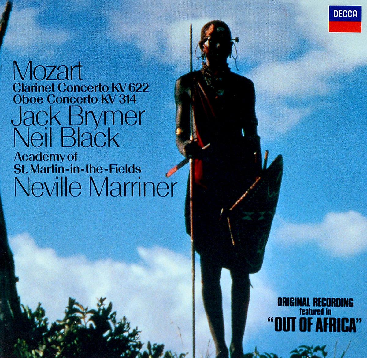Джек Браймер,Нэвилл Мерринер Jack Brymer, Sir Neville Marriner. Mozart: Clarinet Concerto / Oboe Concerto sir neville marriner faure requiem