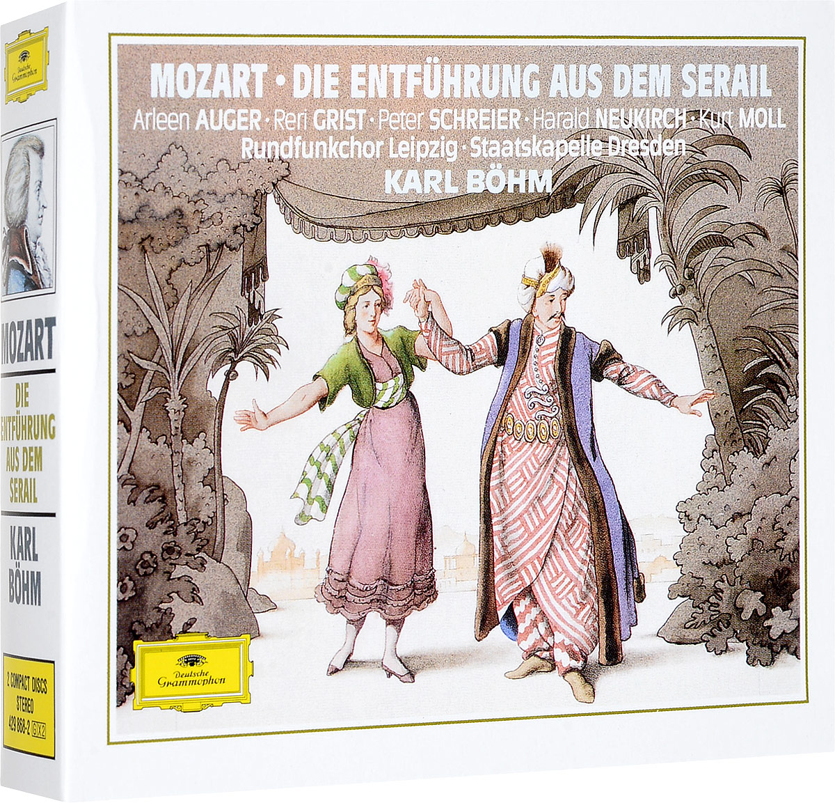 Карл Боэм Karl Boehm. Mozart: The Abduction From The Serail (2 CD) цена