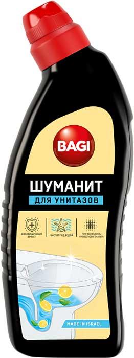 Средство для ванной и туалета Bagi Шуманит, лимонный, 650 мл средство для чистки изделий из дерева bagi раитит 3 л