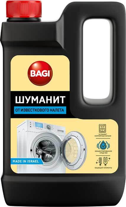 Средство от известкового налета Bagi Шуманит, 550 мл средство от накипи topperr для чайников и водонагревательных приборов 250 мл