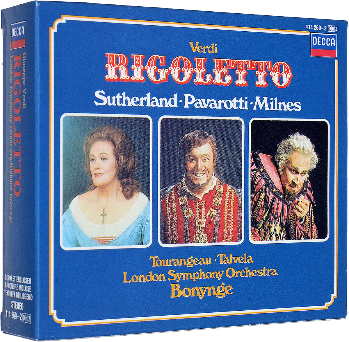 Ричард Бонинг Richard Bonynge. Verdi: Rigoletto (2 CD) ричард томпсон richard thompson live at the bbc 3 cd dvd