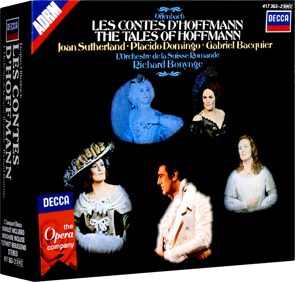Ричард Бонинг Richard Bonynge. Offenbach: Les Contes D'Hoffman (2 CD) ssio offenbach am main