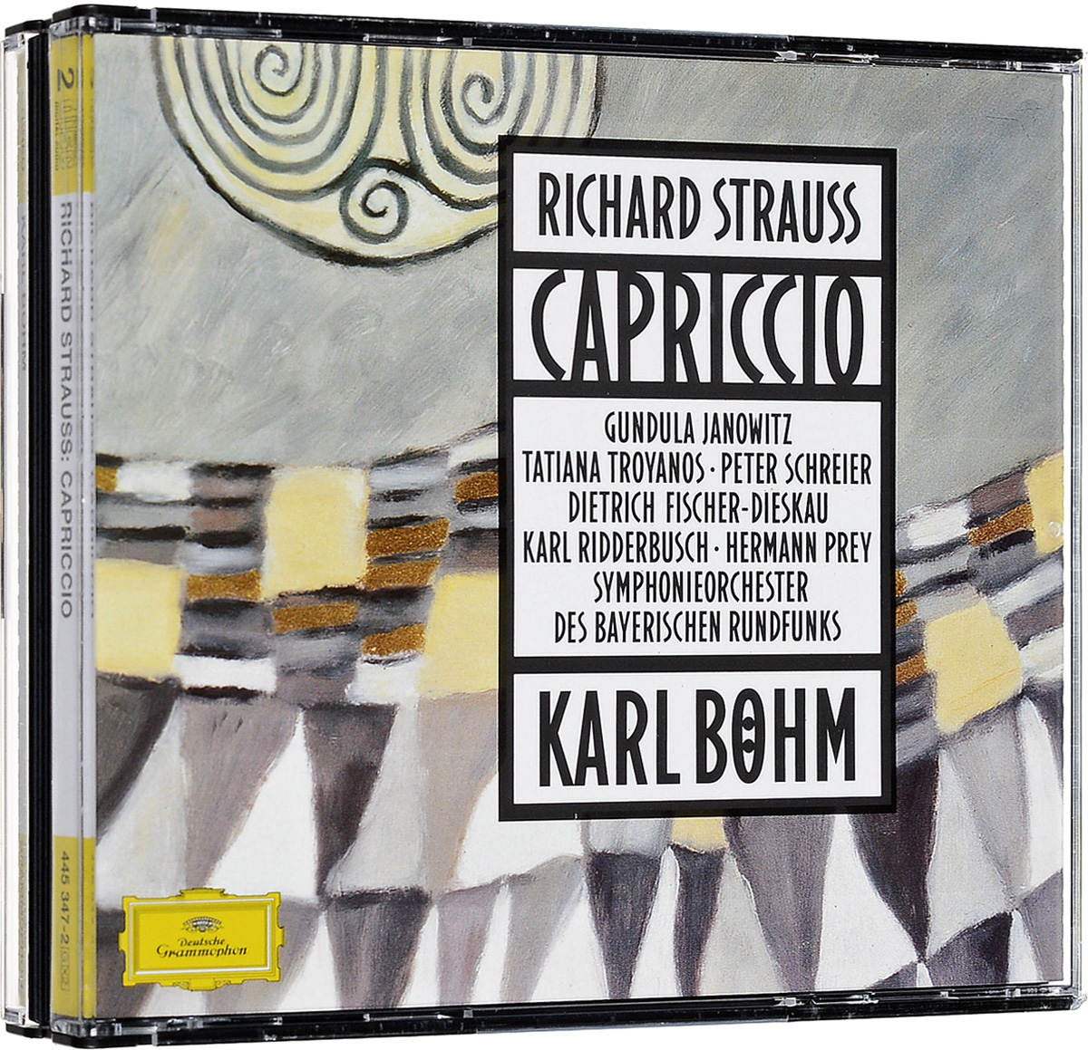 Карл Боэм Karl Boehm. Richard Strauss: Capriccio (2 CD) цена
