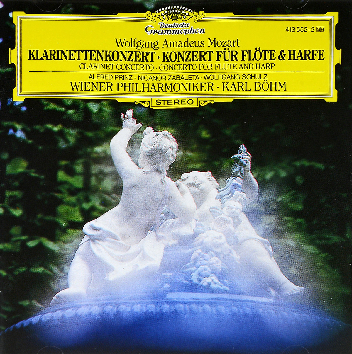 Карл Боэм Karl Boehm. Mozart: Clarinet Concerto, Flute & Harp Concerto tombo hope 24 tremolo harmonica 24 hole brass reed blues harp mouth organ key c note harmonica wood music instrument silver harp