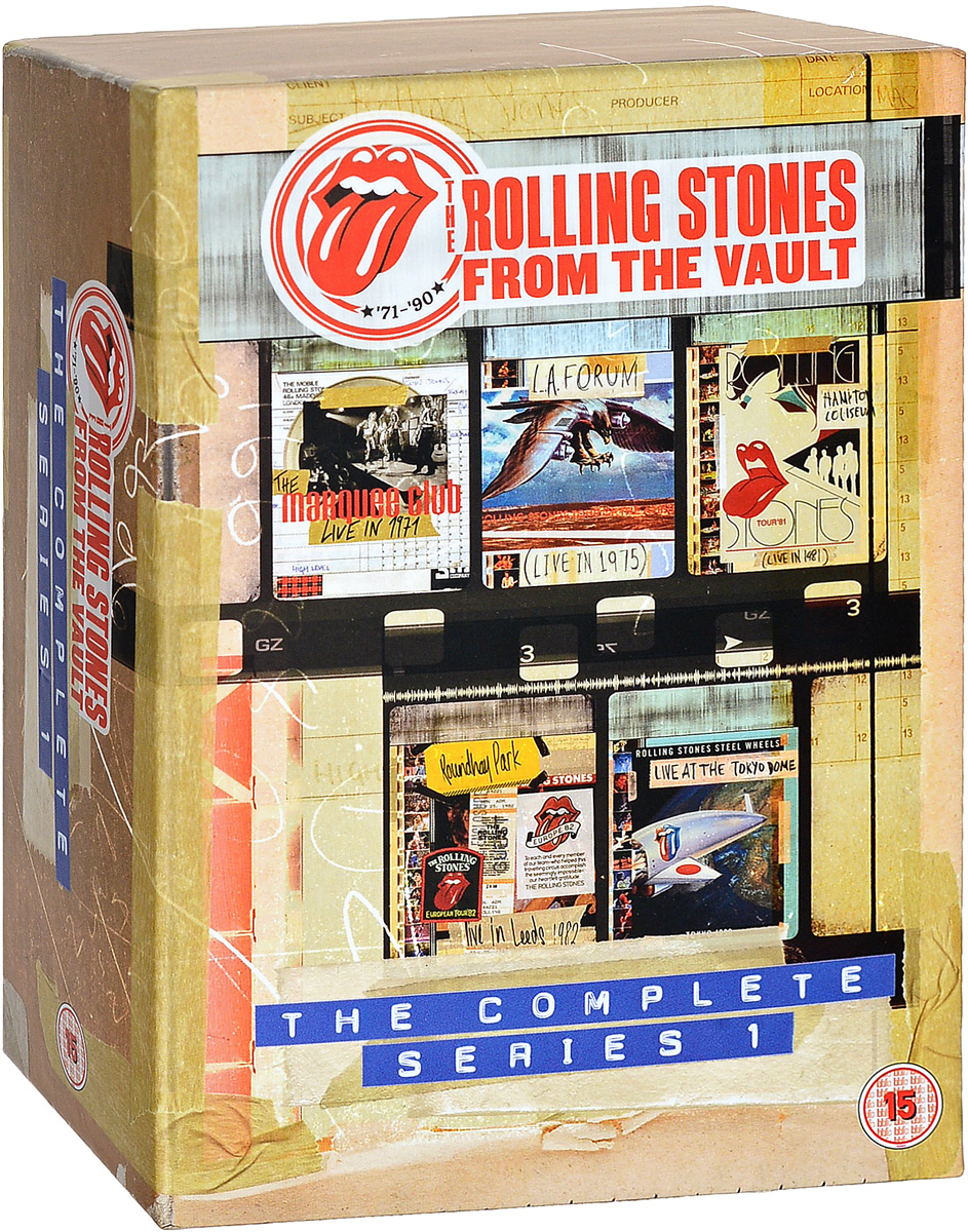 Rolling Stones: From The Vault: The Complete Series 1 (5 DVD) the rolling stones from the vault live in leeds 1982 blu ray
