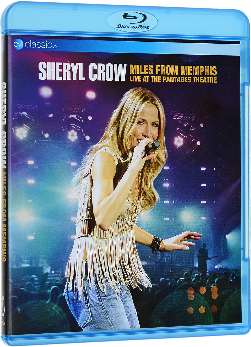 Sheryl Crow: Miles from Memphis Live at the Pantages Theatre (Blu-ray) alex crow