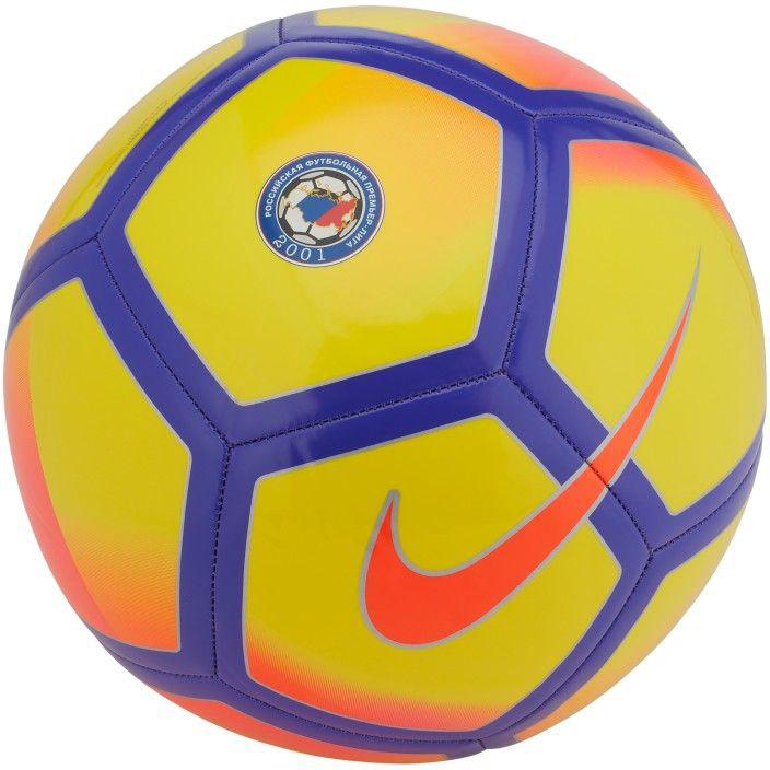 Мяч футбольный Nike RPL NK PTCH, цвет: желтый размер 5SC3490-707Яркий футбольный мяч с символикой российской премьер-лиги