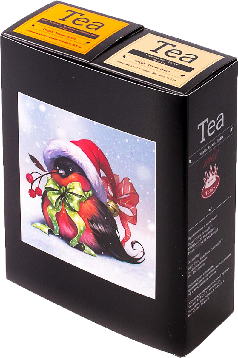 Подарочный набор Royal T-Stick: Orange Tea черный чай High Tea черный чай, в стиках, 30 шт. 20181138 2005 чай ассам хармутти оптом