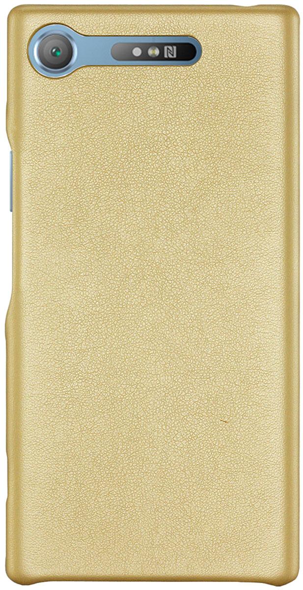 G-Case Slim Premium чехол для Sony Xperia XZ1, Gold книжка подставка g case slim premium для apple ipad pro 10 5 черный