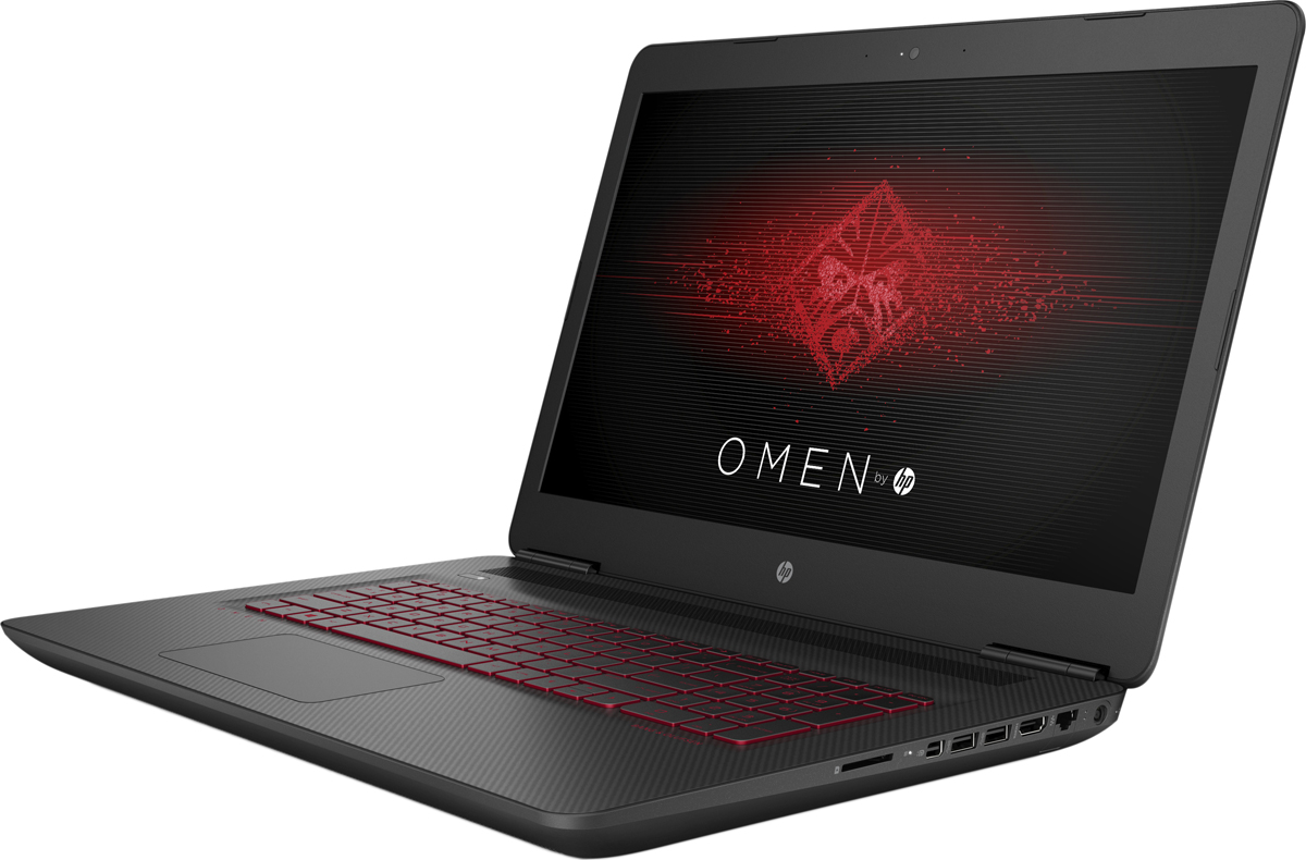 HP Omen 17-w211ur, Shadow Mesh (1GP22EA) - Ноутбуки