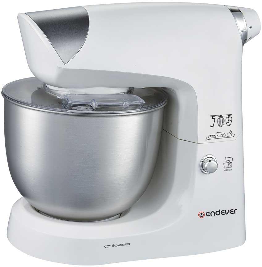 Endever Sigma-24, White Silver кухонный комбайнSigma-24Кухонная машина ENDEVER SIGMA-24