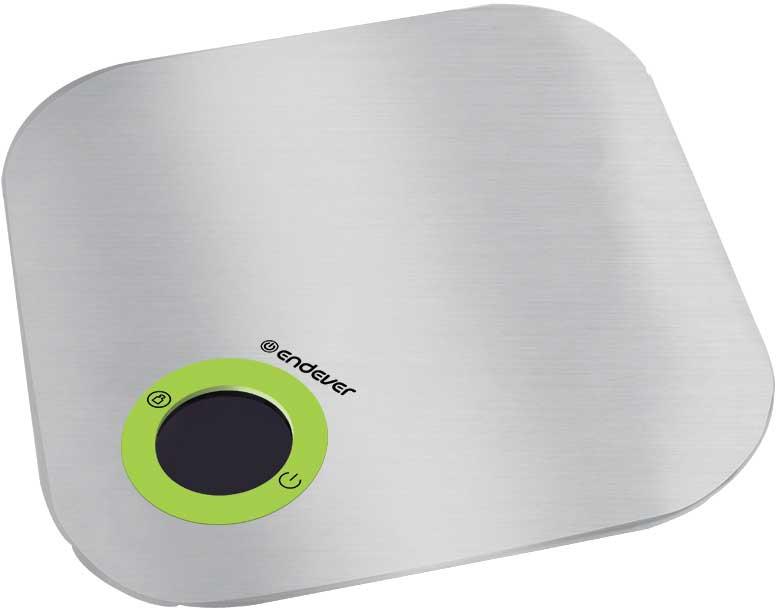 Endever Skyline KS-531, Silver кухонные весыKS-531Кухонные электронные весы Endever Skyline KS-531 - незаменимые помощники современной хозяйки. Они помогут точно взвесить любые продукты и ингредиенты. Кроме того, позволят людям, соблюдающим диету, контролировать количество съедаемой пищи и размеры порций. Предназначены для взвешивания продуктов с точностью измерения 1 г. Имеют сенсорное управление.