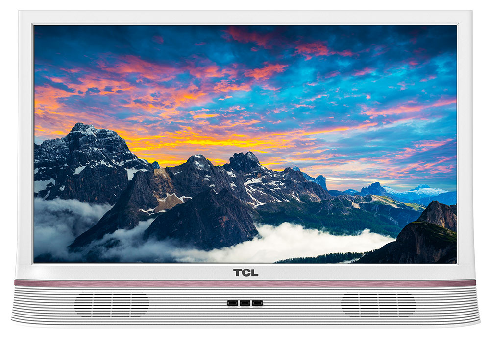 TCL LED24D2900SA, White телевизор белый цвет телевизор недорого