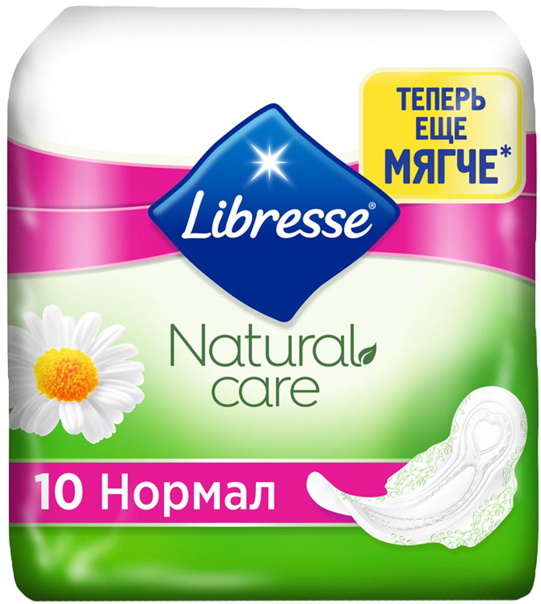 Libresse Гигиенические прокладки Natural Care Ultra Normal,10 шт прокладки libresse дэйлифреш нормал 60шт ежедн