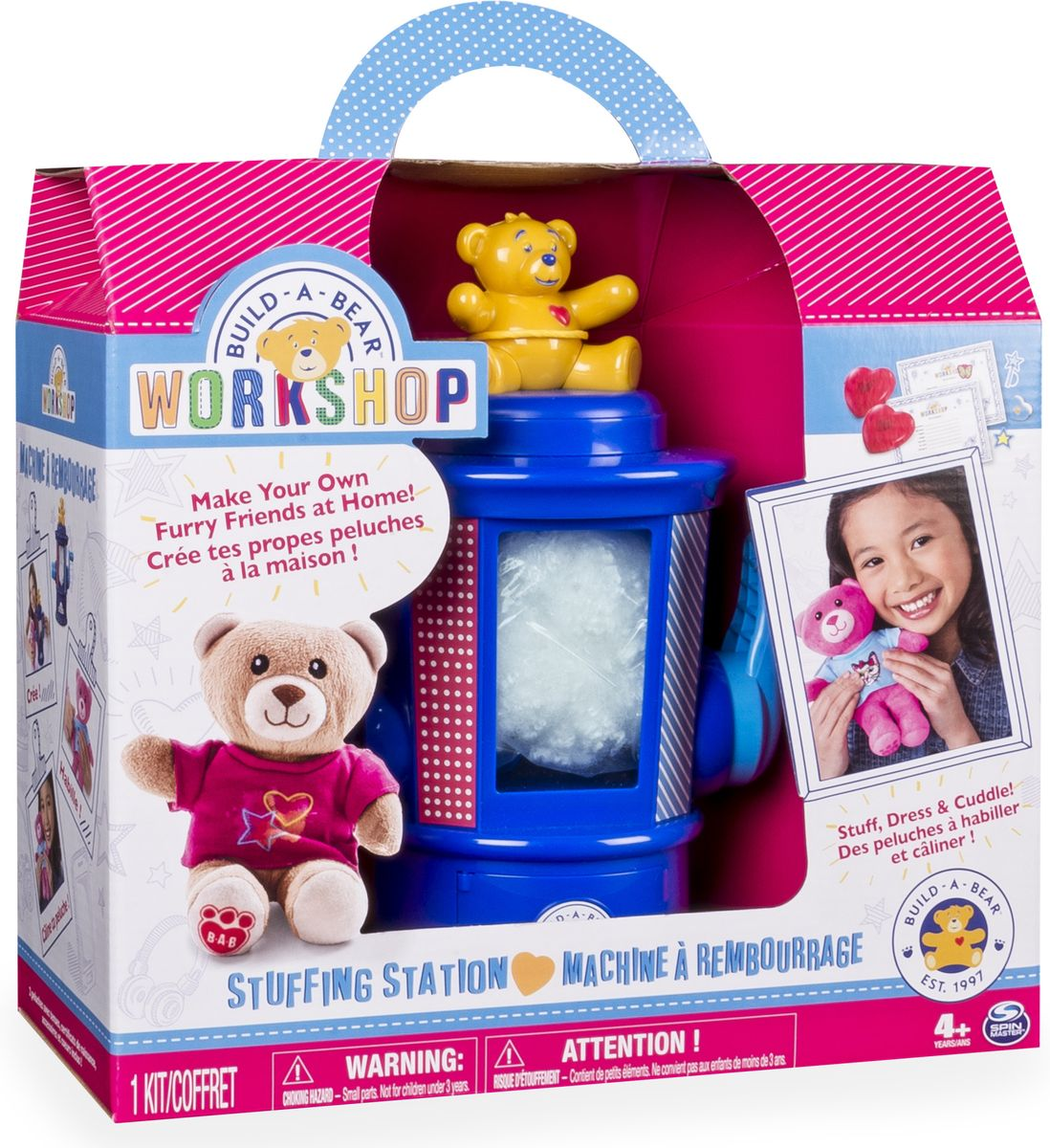 Build-a-Bear Набор для изготовления игрушек build a bear workshop promise pets pink dog leash