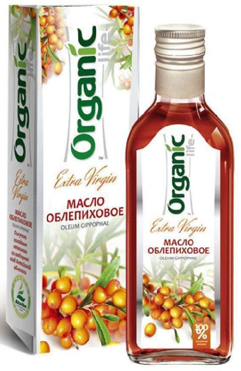 Organic Life масло облепиховое, 250 мл в какой аптекев пензе можно купить облепиховое масло для приема внутрь