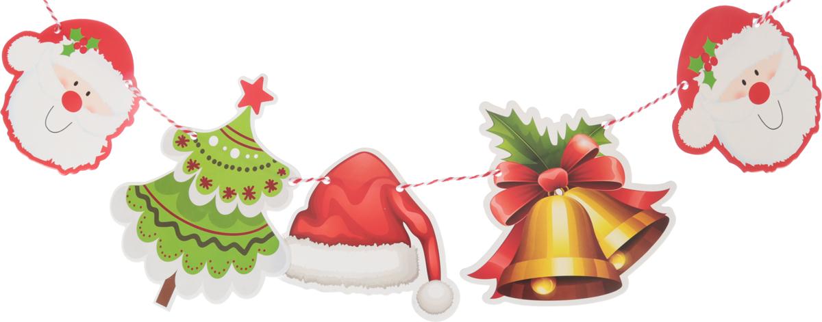Гирлянда новогодняя Новогоднее украшение, длина 2,3 м. 23791192379119Невозможно представить нашу жизнь без праздников! Мы всегда ждем их и предвкушаем, обдумываем, как проведем памятный день, тщательно выбираем подарки и аксессуары, ведь именно они создают и поддерживают торжественный настрой. Это отличный выбор, который привнесет атмосферу праздника в ваш дом!