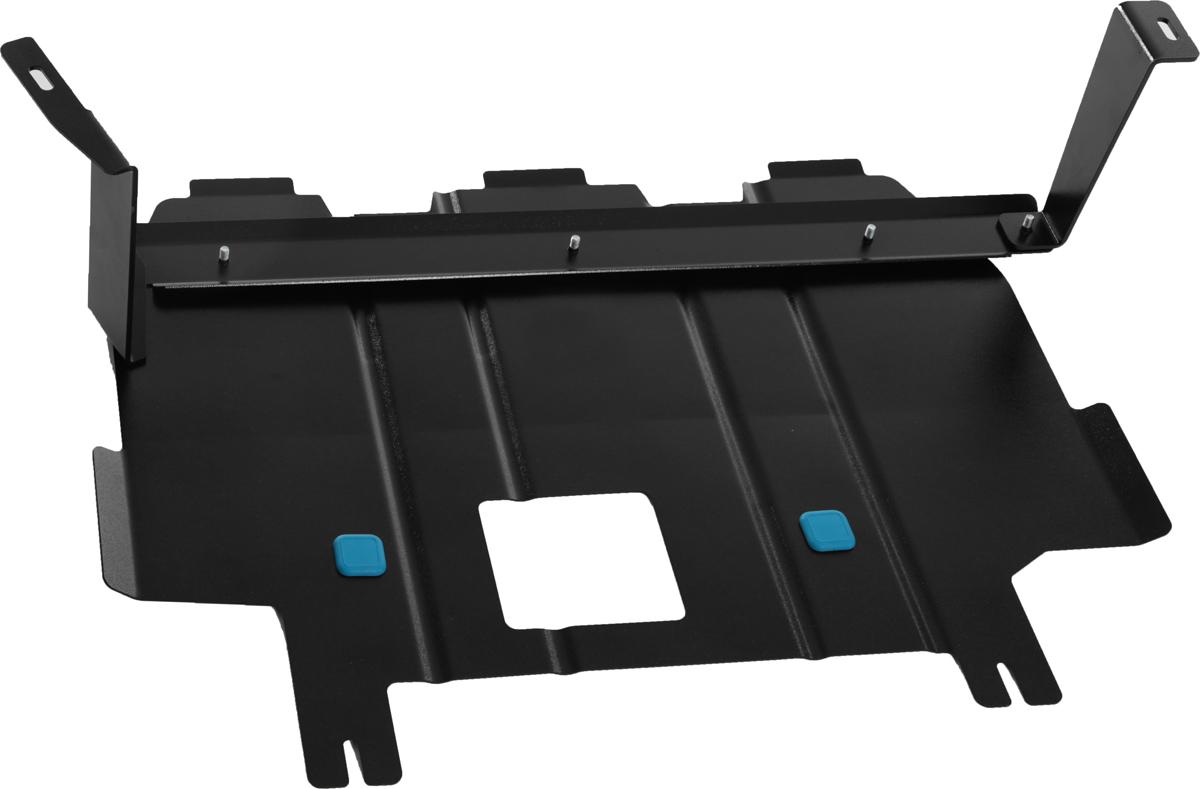 Защита картера и крепеж Novline-Autofamily, для Hyundai Elantra (16->) 1,6/2,0 бензин МТ/АТ FWDNLZ.20.49.030 NEWЗащита картера Novline-Autofamily, изготовленная из прочной стали, надежно защищает днище вашего автомобиля от повреждений, например при наезде на бордюры, а также выполняет эстетическую функцию при установке на высокие автомобили.- Отлично отводит тепло от двигателя своей поверхностью, что спасает двигатель от перегрева в летний период или при высоких нагрузках.- В отличие от стальных, стальные защиты не поддаются коррозии, что гарантирует долгий срок службы защит.- Покрываются порошковой краской, что надолго сохраняет первоначальный вид новой защиты и защищает от гальванической коррозии.