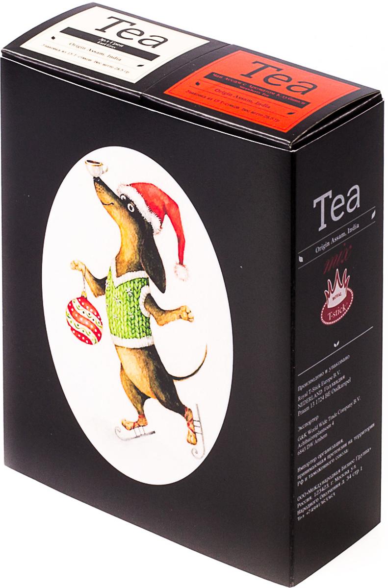 Подарочный набор Royal T-Stick: Earl Grey черный чай и Strawberry Tea черный чай, в стиках, 30 шт. 20181018 2005 чай ассам хармутти оптом