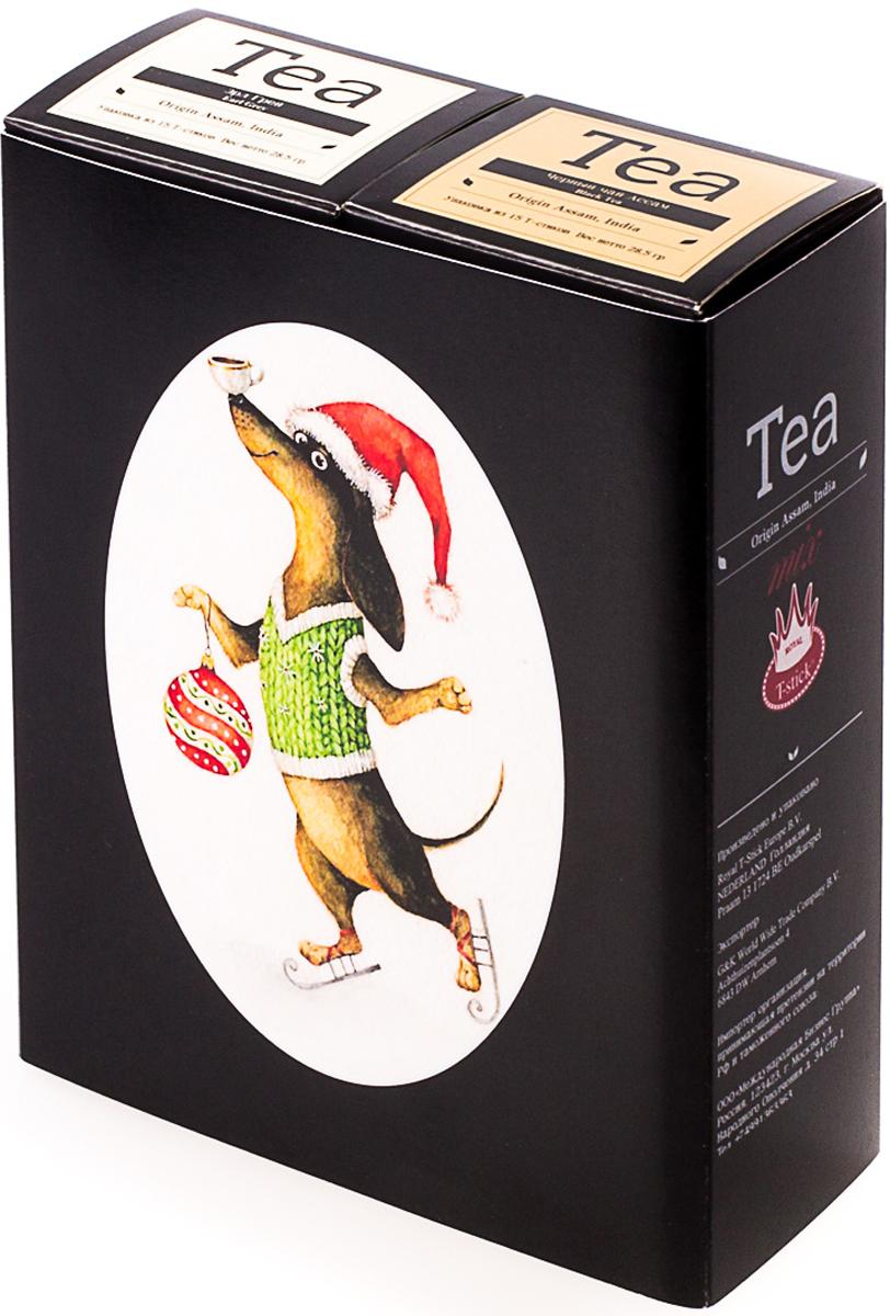 Подарочный набор Royal T-Stick: Earl Grey черный чай и High Tea черный чай, в стиках, 30 шт. 20181017 greenfield royal earl grey черный листовой чай 250 г