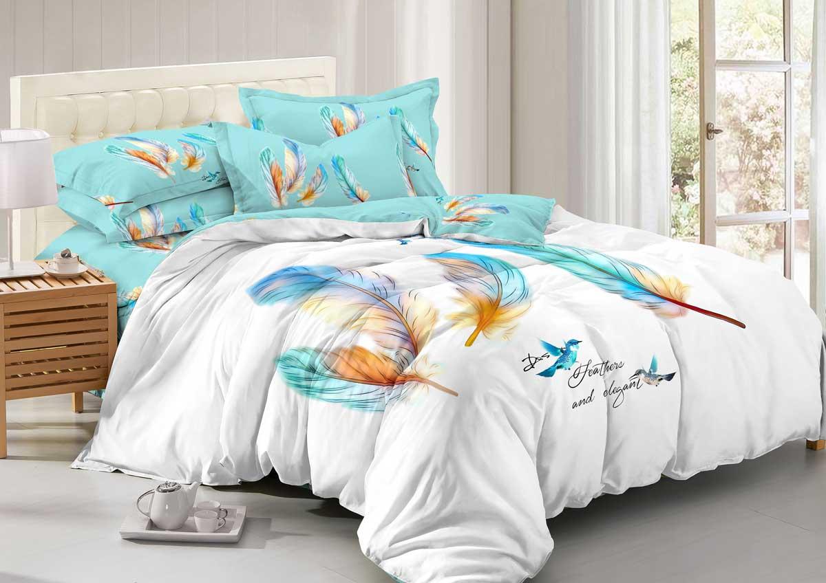 Комплект белья Guten Morgen Mango, 1,5-спальный, сатин. М-769-143-150-70М-769-143-150-70Не отказывайте себе в удовольствии оценить широкий спектр дизайнов, включающий в себя большое количество стилей и разнообразных мотивов. Мы нашли свежее решение в вопросе выбора между комфортом и изысканностью. Наша коллекция рождена с особым теплом и заботой, чтобы впоследствии стать стильной деталью вашего интерьера.Советы по выбору постельного белья от блогера Ирины Соковых. Статья OZON Гид