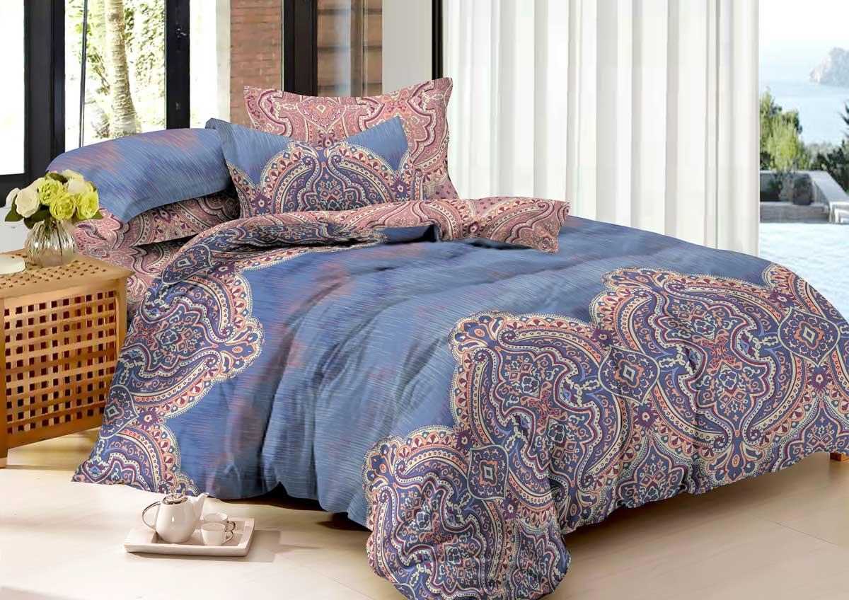 Комплект белья Guten Morgen Mango, 1,5-спальный, сатин. М-772-143-150-70М-772-143-150-70Не отказывайте себе в удовольствии оценить широкий спектр дизайнов, включающий в себя большое количество стилей и разнообразных мотивов. Мы нашли свежее решение в вопросе выбора между комфортом и изысканностью. Наша коллекция рождена с особым теплом и заботой, чтобы впоследствии стать стильной деталью вашего интерьера.