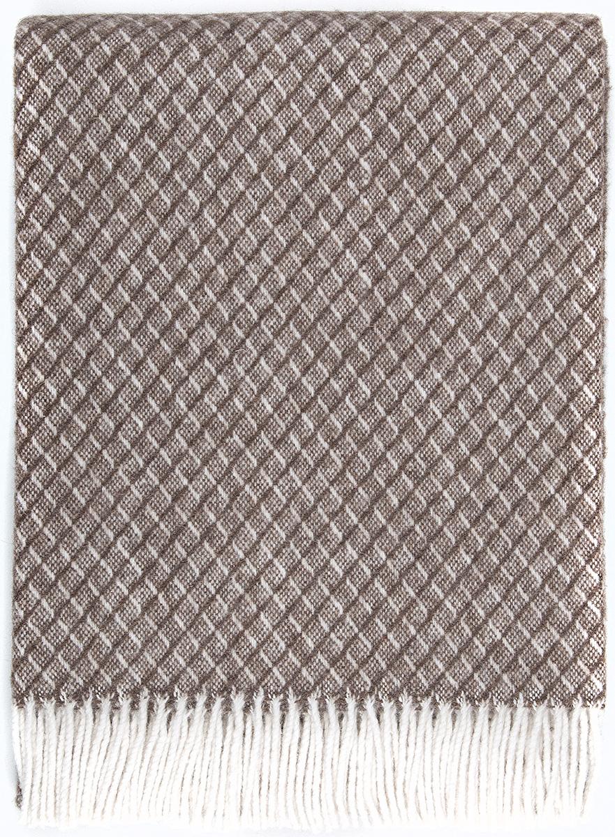 Плед Vladi Жасмин, цвет: белый, светло-коричневый, 140 х 200 см03345Плед Жасмин имеет оригинальную выразительную структуру, отличное качество и натуральный цвет. Выполняется в широкой цветовой гамме с большим количеством оттенков. Необычная текстура пледа Жасмин универсально подойдет для любого типа мебели и стиля комнаты. Отличный вариант для самых требовательных покупателей с изысканным вкусом.