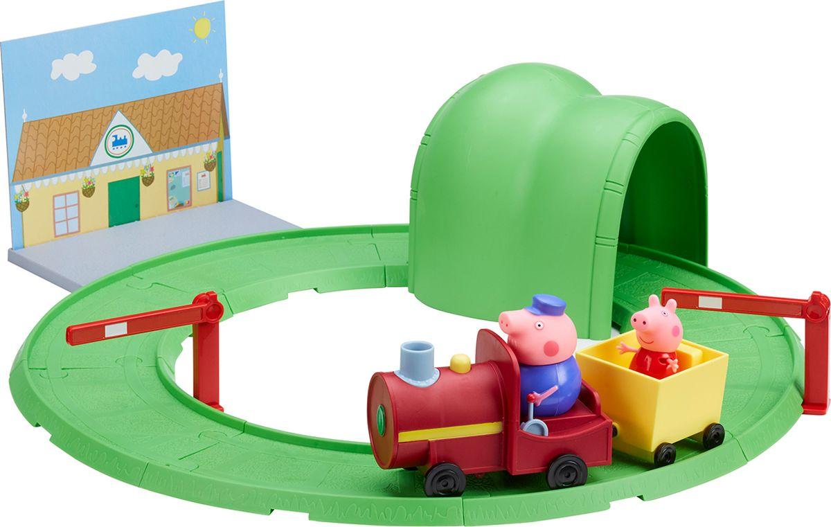 Peppa Pig Игровой набор Паровозик с туннелем - Игровые наборы
