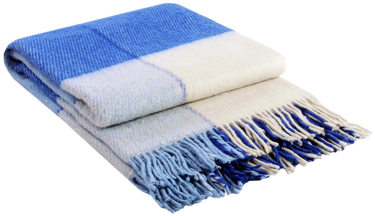Плед Vladi Эльф, цвет: белый, голубой, кобальт, 170 х 210 см. 0146601466Коллекция пледов Эльф самая обширная в нашем ассортименте – она представлена в более чем в 50-ти разнообразных расцветках. Классическая шотландская клетка на любой вкус, качественная натуральная шерсть и практичность пледов Эльф доставят Вам не только эстетическое удовольствие, но и принесут пользу своим теплом в холодное время года.