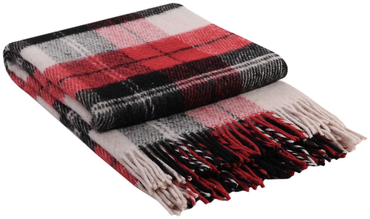 Плед Vladi Эльф, цвет: белый, красный, черный, 170 х 210 см01044Коллекция пледов Эльф самая обширная в нашем ассортименте – она представлена в более чем в 50-ти разнообразных расцветках. Классическая шотландская клетка на любой вкус, качественная натуральная шерсть и практичность пледов Эльф доставят Вам не только эстетическое удовольствие, но и принесут пользу своим теплом в холодное время года.