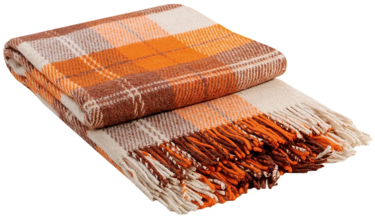 Плед Vladi Эльф, цвет: белый, оранжевый, терракотовый, 140 х 200 см00162Коллекция пледов Эльф самая обширная в нашем ассортименте – она представлена в более чем в 50-ти разнообразных расцветках. Классическая шотландская клетка на любой вкус, качественная натуральная шерсть и практичность пледов Эльф доставят Вам не только эстетическое удовольствие, но и принесут пользу своим теплом в холодное время года.