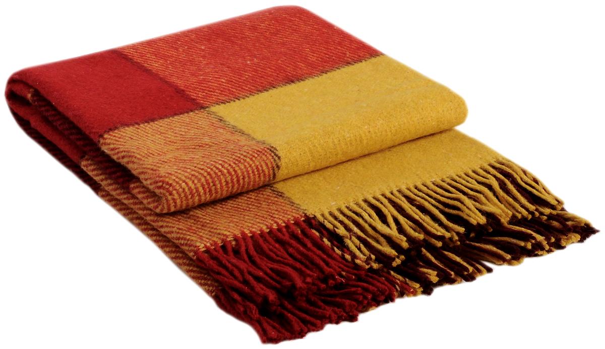 Плед Vladi Эльф, цвет: желтый, красный, бордовый, 200 х 220 см00224Коллекция пледов Эльф самая обширная в нашем ассортименте – она представлена в более чем в 50-ти разнообразных расцветках. Классическая шотландская клетка на любой вкус, качественная натуральная шерсть и практичность пледов Эльф доставят Вам не только эстетическое удовольствие, но и принесут пользу своим теплом в холодное время года.