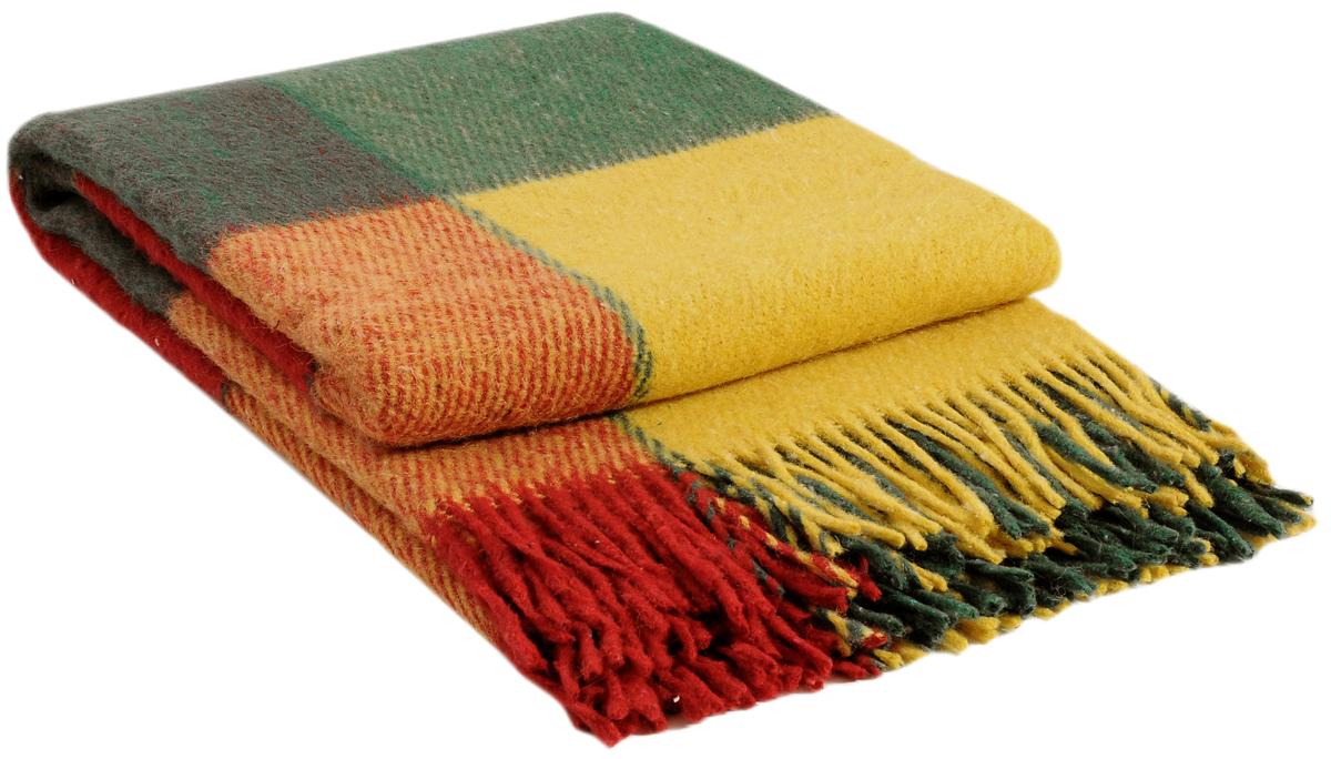 Плед Vladi Эльф, цвет: желтый, красный, зеленый, 200 х 220 см00215Коллекция пледов Эльф самая обширная в нашем ассортименте – она представлена в более чем в 50-ти разнообразных расцветках. Классическая шотландская клетка на любой вкус, качественная натуральная шерсть и практичность пледов Эльф доставят Вам не только эстетическое удовольствие, но и принесут пользу своим теплом в холодное время года.